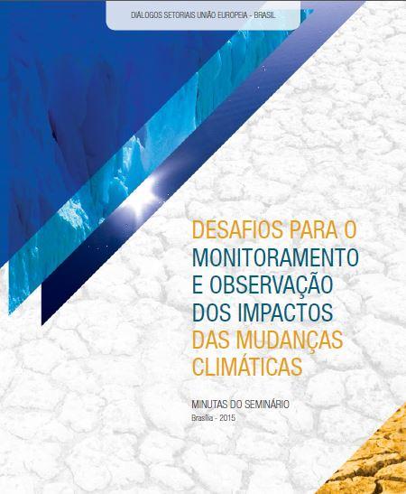 monitoramento impactos mudanças climáticas